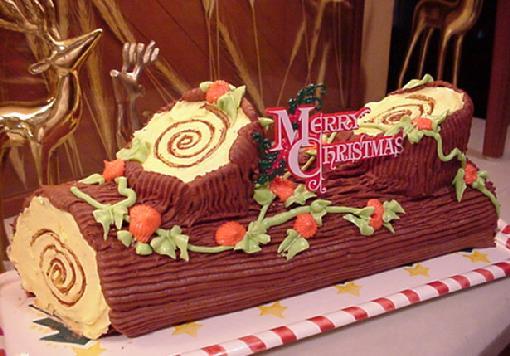 yule log cake black forest yule log cake black forest yule stump cake ...